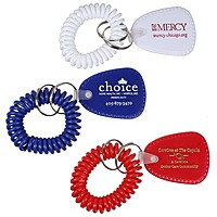 Bracelet Coil Keychain