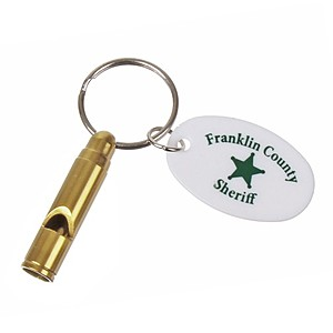 Bullet Whistle Keychain