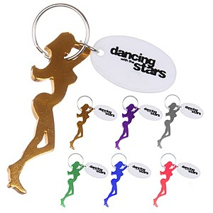 Dancing Girl Keychain