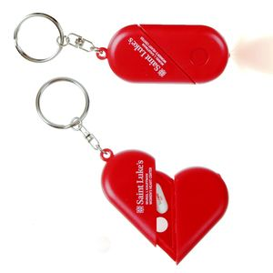 Heart Pillbox Keychain