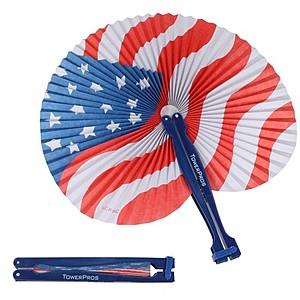 Patriotic Folding Fan