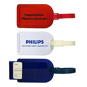 Sliding Luggage Tag