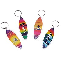 Surfboard Keychain