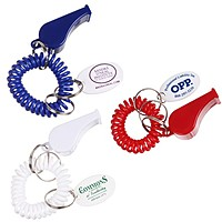 Whistle Coil Keychain