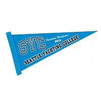 "8"" X 18"" Screen Print Colored Felt Pennant"