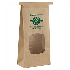 "Coffee Bags (With Window)   4.5"" X 9.75"""