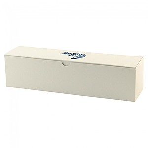 "Fold Up Gift Box   Frost White Gloss   12"" X 3"""