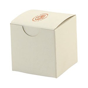 "Fold Up Gift Box   Frost White Gloss   2"" X 2"""