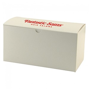 "Fold Up Gift Box   Frost White Gloss   9"" X 4.5"""
