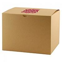"""Fold Up Gift Box   Natural Kraft   6"""" X 6"""""""