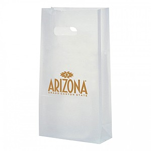 "Frosted Die Cut Totes   7.75"" X 15"""