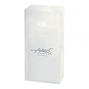 "Frosted Die Cut Totes   7"" X 10"""