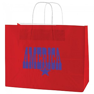 "Gloss Coated Shopping Bags   16"" X 13"""