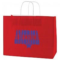 "Gloss Coated Shopping Bags   16"" X 13"""