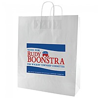 "Gloss Coated Shopping Bags   16"" X 19.25"""