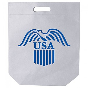 "Nw Die Cut Handle Bag   15"" X 18"""