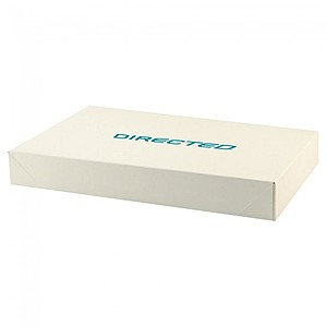 "Pop Up Apparel Box   Frost White Gloss   15"" X 9.5"""
