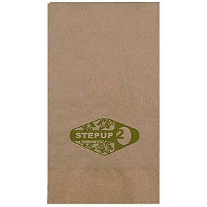 1 Ply Kraft Dinner Napkin 1/8 Fold