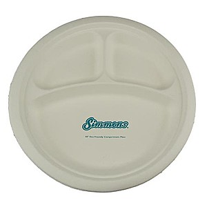 "10"" Compartment Plate"