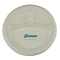 """10"""" Compartment Plate"""