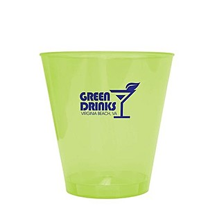 2 Oz. Yellow Bright Light Shot Glass