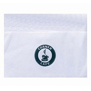 Bleached Single Ply, 3/4 Fold Napkin