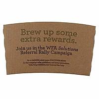Brown Kraft Coffee Clutch