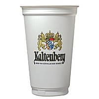 Digital 20oz. White Economy Cup