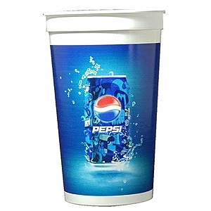 Digital 22oz. Smooth Stadium Cup