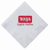 Dinner Napkins, 1/4 Fold   White