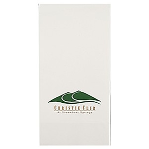Dinner Napkins, 1/8 Fold   White