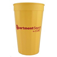 Fluted Cup, 22 Oz.