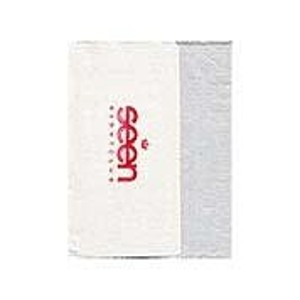 Foil Stamped Bleached Napkin Single Ply, 3/4 Fold