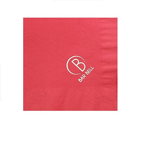 Foil Stamped Colored Luncheon Napkins