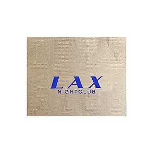 Foil Stamped Unbleached Single Ply, 3/4 Fold Napkin
