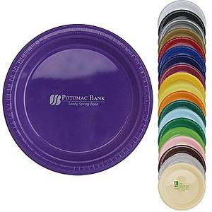 """Plastic Plates, 9"""" Round"""