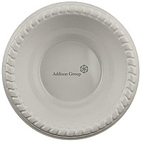Premium White Plastic Bowl, 12 Oz.