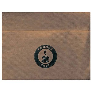 Unbleached Single Ply, 3/4 Fold Napkin