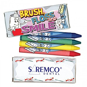 4 Pack Dental Crayon