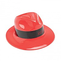 Gangster Hat   Red