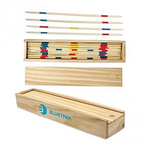 Pick Up Sticks In Wood Box
