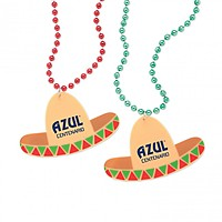 Sombrero Medallion W/Beads
