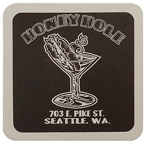 "40 Pt. 4"" Square Coaster White High Density Coasters"