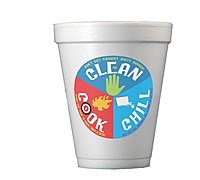 10oz Foam Cups Digital Print