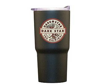 20 Oz Black Stainless Steel Tumbler