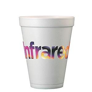 12 Oz. Foam Cups   Full Color Digital Print