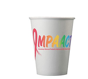 12 Oz. Hot/Cold Paper Cups Full Color Digital