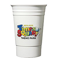 16 Oz. Double Wall Party Cup Full Color Digital Print