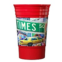 Full Color 20 Oz. Single Wall Party Cup