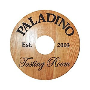 "40 Pt. 2.75"" Wine Tag  White High Density Coasters"